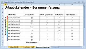Resturlaub Berechnen : ansprechender excel urlaubskalender f r den arbeitsplatz it runde ~ Themetempest.com Abrechnung