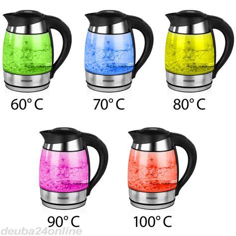 wasserkocher aus edelstahl wasserkocher aus edelstahl glas mit farbwechsel 187 zum shop