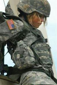 .Female Soldier doing her part | Sexy Weapons | Pinterest