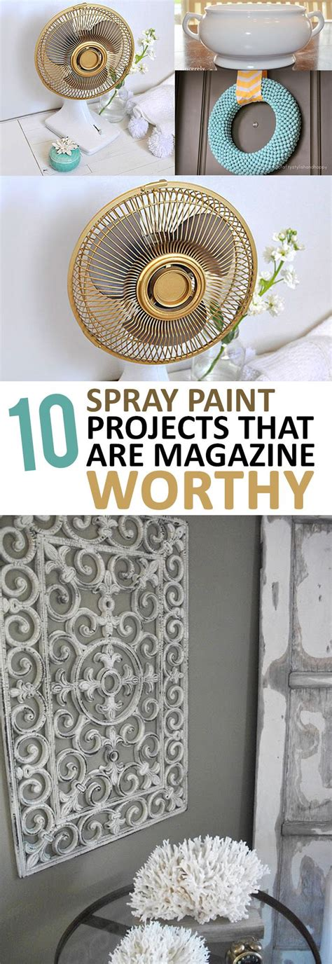 Amazing Diy Home Decor Projects Using Spray Paint