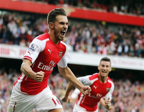 arsenal 2 1 palace highlights goals ramsey scores injury time winner on opening day