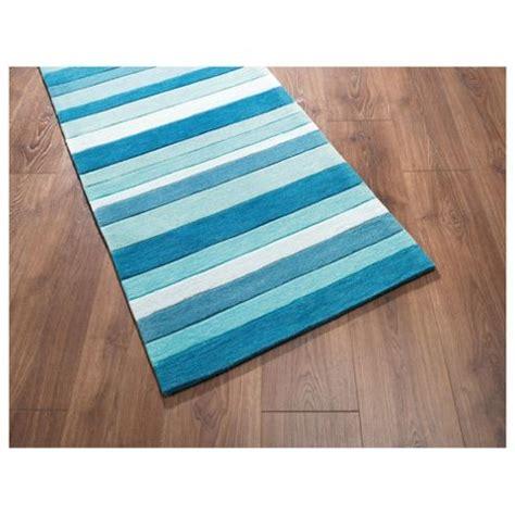 Tesco Doormat by Buy Tesco Rugs Stripe Runner Teal 67x200cm From Our Door