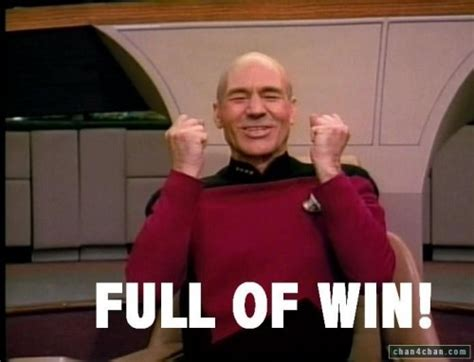 Jean Luc Picard Meme - jean luc picard know your meme jean luc picard captian picard screen cap full of win verbal