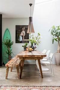 quelle deco salle a manger choisir idees en 64 photos With meuble salle À manger avec banc salle a manger