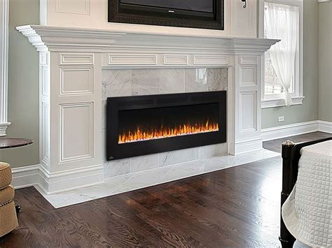 electric fireplace design napoleon 60 in wall mount electric fireplace