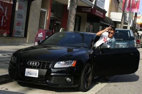 Zack Efron Rolls In Style In A Blacked Out Audi S5