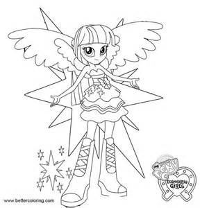 Twilight Sparkle Coloring Pages To And Print For Free Mlp Equestria Coloring Pages Twilight Sparkle Free