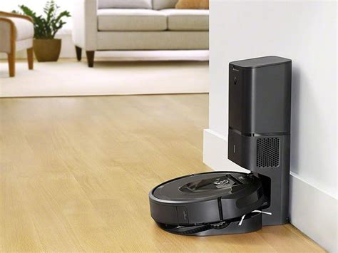 Irobot's Roomba I7+ Cleaning Robot Automatically Empties