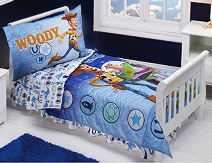 Story Toddler Bed Set by Story Buzz And Woody 4 Toddler Bedding Set New