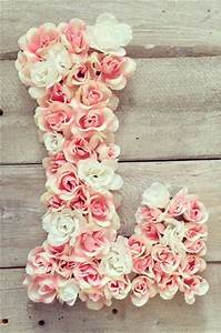 gorgeous floral monogram monograms pinterest With flower covered letters
