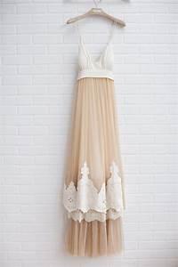 BHLDN Fleur Wood Blushing Crinoline Sheath - Used Wedding ...