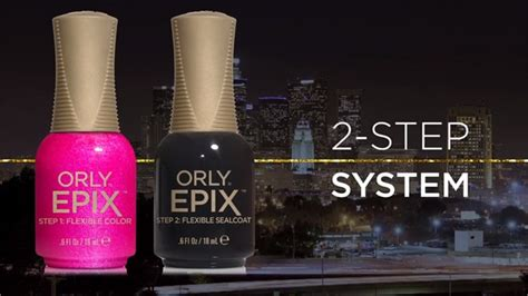 orlys epix flexible long lasting color style nails