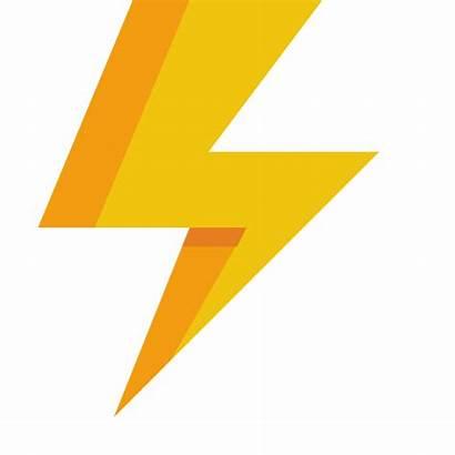 Lightning Icon Flat Icons Paomedia