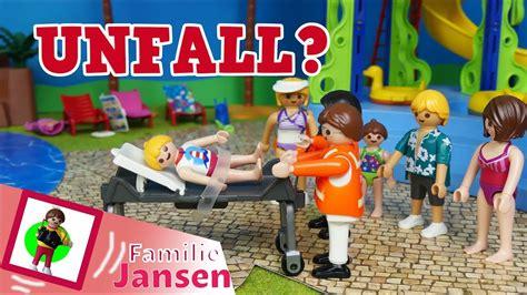 "Playmobil Film ""unfall Im Aquapark?"" Familie Jansen"