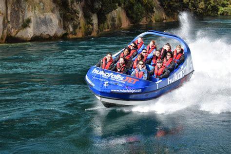 Huka Jet Boat by Lake Taupo Hukafalls Fast Jet Boat Ride To Taupo S Huka Falls