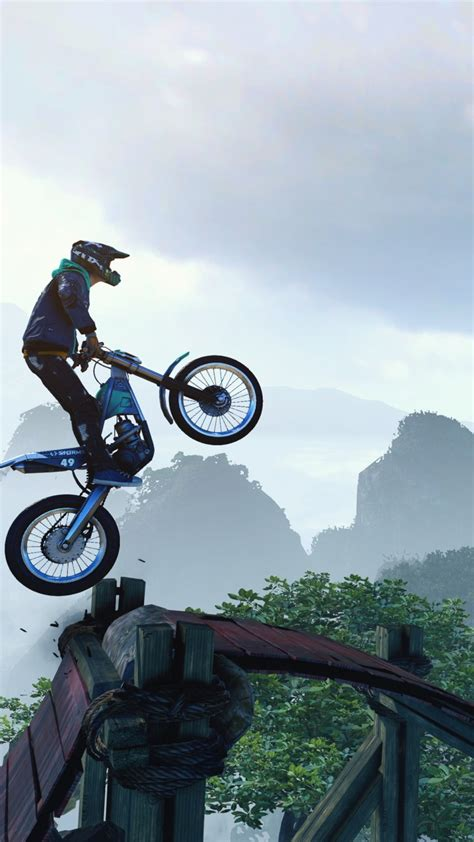 wallpaper trials rising   screenshot  games