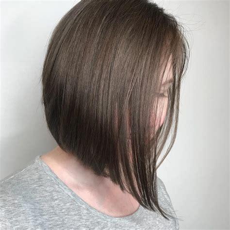 short straight hairstyles trending