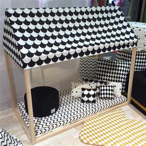 chambre bébé allemagne lit cabane ibiza home écailles noires nobodinoz