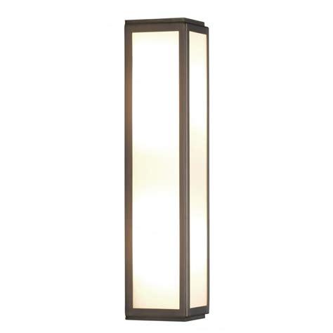 7958 mashiko 360 led bathroom wall light bronze