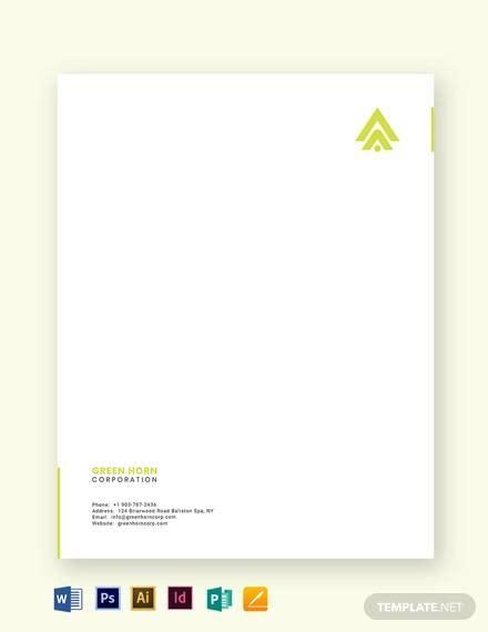 top business letterhead templates  illustrator