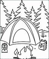 Coloring Camping Sheets Cartoon Disney Disimpan Dari sketch template