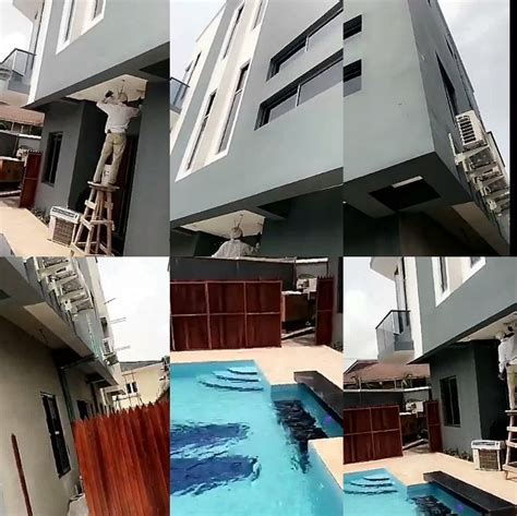 banky  acquires   house   birthday gift initial engraved  pool celebrities nigeria