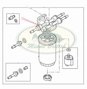 Land Rover Fuel Filter Assy Diesel Td5 Discovery 2 Ii 00