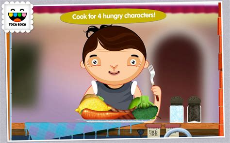 toca boca kitchen toca kitchen android apps on play