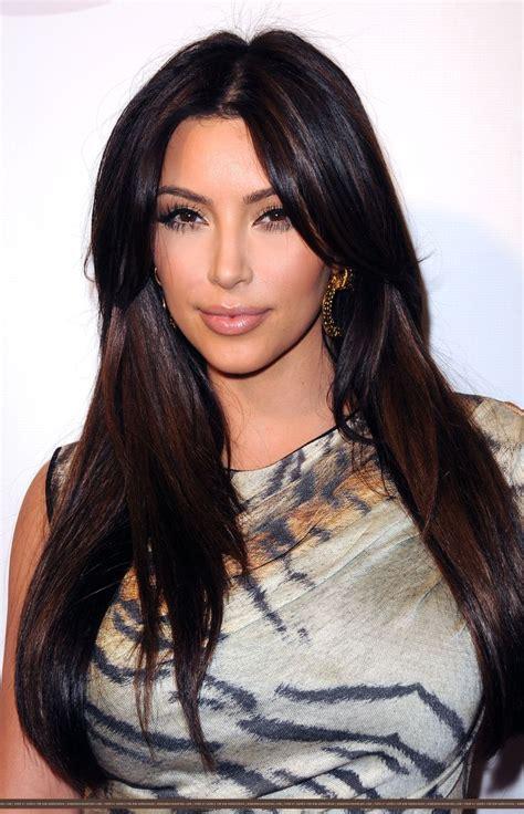 long  straight hair kim kardashian kim kardashian