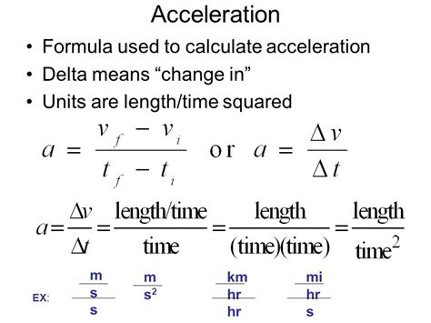 day topic acceleration formula  video