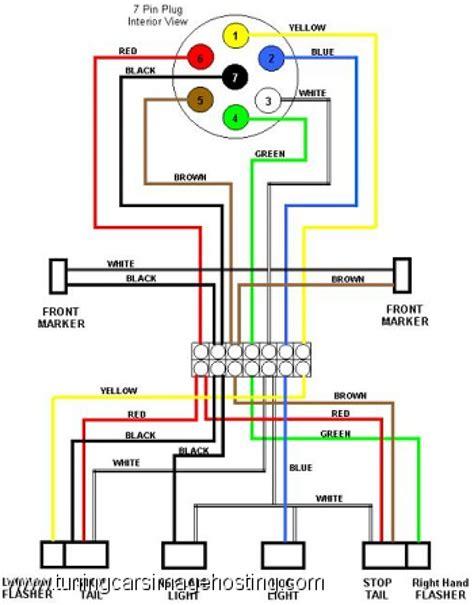 Diagram Way Trailer Plug Wiring Dodge Full
