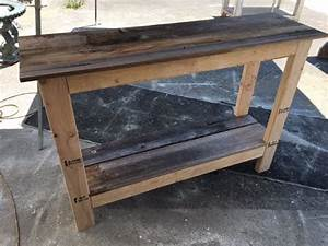 DIY $20 Console table project Fast and easy Great