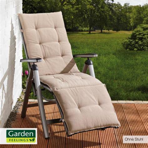 Garden Feelings® Auflage Für Alurelaxsessel Von Aldi Nord