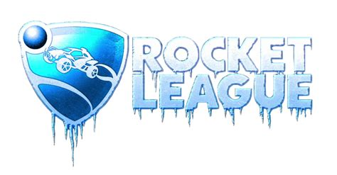 Rocket League Logo In Ice From The Trailer! [png