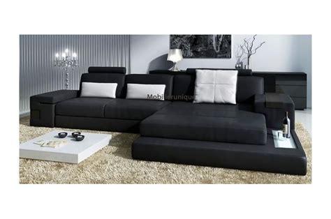 canapé angle confortable canapé d 39 angle en cuir design avignon