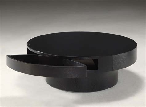 Coffee Table Remarkable Black Round Coffee Table Small