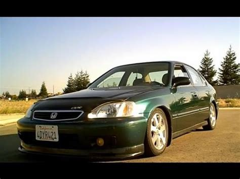 1999 honda civic sedan dx with si rims magnaflow exhaust