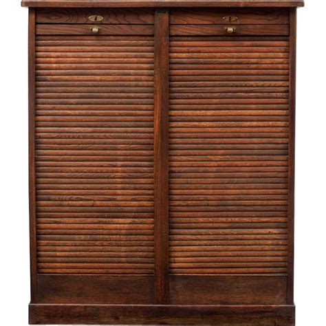 roll up cabinet doors kitchen armoire 224 volet roulant et ch 234 ne fonc 233 1940 design market 7794