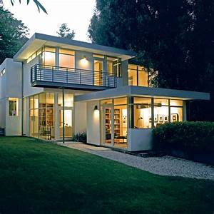 Contemporary, House, With, Clean, And, Simple, Plan, And, Interior