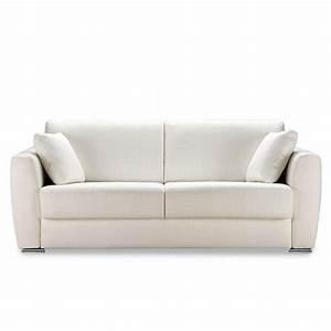 canape convertible quotidien cannes meubles et atmosphere With canapé convertible couchage quotidien avec tapis rond jaune