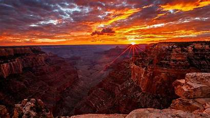 Canyon Grand Sunrise Sunset Background Wallpapers 1920