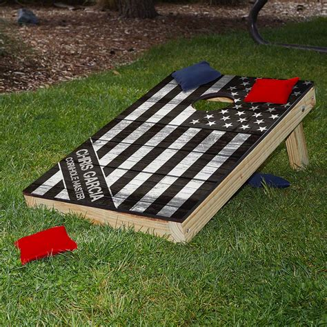 American Heroes Custom Cornhole Board Set Military T