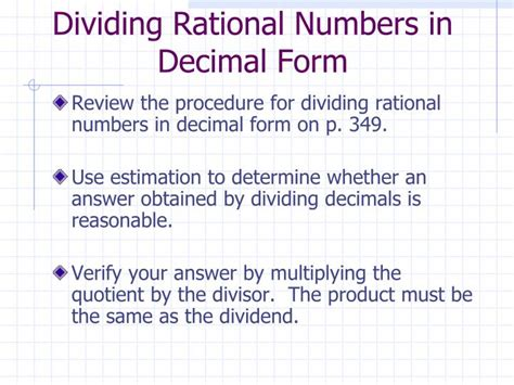 ppt 6 4 operations with decimals powerpoint presentation