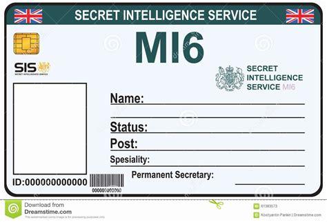 child id card template beautiful identite  agent
