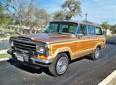 beige jeep grand 1986 tan jeep grand wagoneer home pinterest