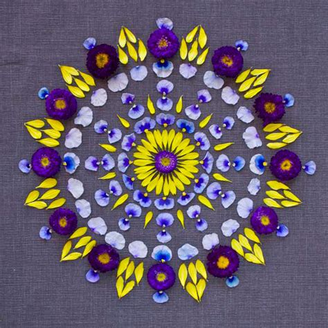 mandala klein colorful mandala designs made from flowers and plants by kathy klein bored panda