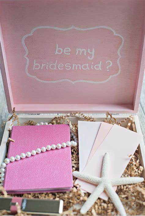 diy bridesmaid gifts     bridesmaid box