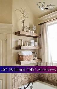 40 Brilliant DIY Shelves - Lil Moo Creations