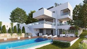 Elegant, Modern, Villa, With, Exceptional, Views