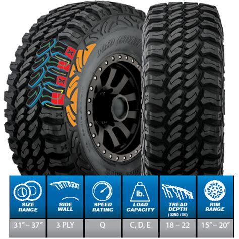 xr pro comp xtreme mt radial tire pc
